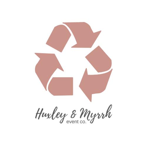 huxley myrrh event co recycle icon